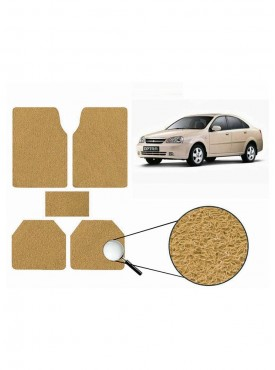 True Vision Car Anti Slip Noodle Floor / Foot Mats Set of 5 Beige For Chevrolet Optra