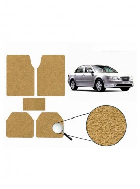 True Vision Car Anti Slip Noodle Floor / Foot Mats Set of 5 Beige For Hyundai Sonata Embera
