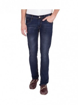 US Blue Men Dark Blue Slim Fit Stretchable Jeans