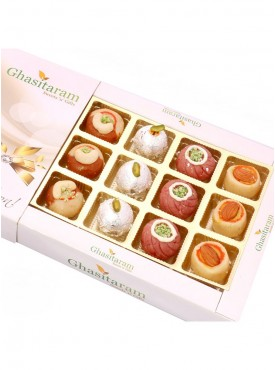 Assorted  Sweets In White Box