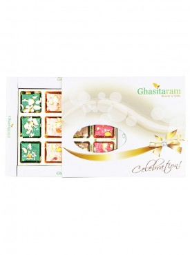 Ghasitarams Sweets Exotic Assorted Kaju Squares