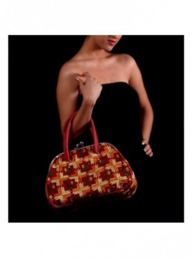 Phulkari Retro Handbag - design 3