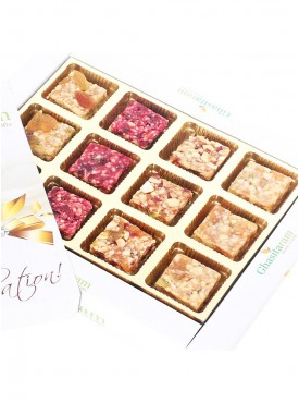 Natural Fruit Assorted Sugarfree Sweets White Box