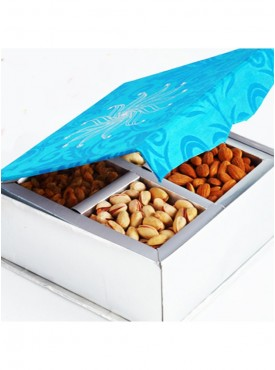 Blue 4 Dryfruit Box