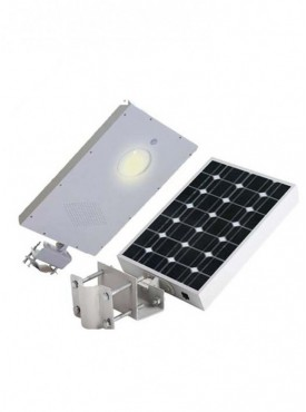 All in One Integrated Solar Streetlight of 15W with inbuilt solar panel and battery