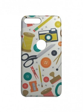 Craft Working Graphic Printed Mobile Back Cover (iPhone 8 Plus Cases & Covers) For iPhone 8 Plus