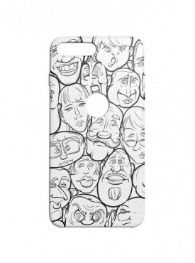 Cartton Doodle Graphic Printed Mobile Back Cover (iPhone 8 Plus Cases & Covers) For iPhone 8 Plus
