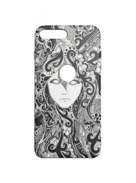 Girls Art Graphic Printed Mobile Back Cover (iPhone 8 Plus Cases & Covers) For iPhone 8 Plus