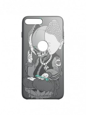 Devil Budha Graphic Printed Mobile Back Cover (iPhone 8 Plus Cases & Covers) For iPhone 8 Plus