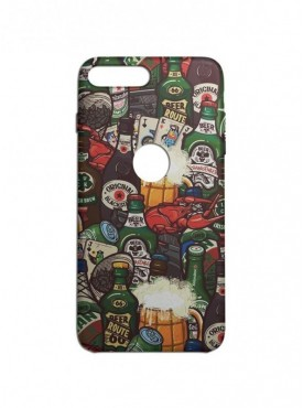 Beer Pattern Graphic Printed Mobile Back Cover (iPhone 8 Plus Cases & Covers) For iPhone 8 Plus