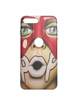 Pop Comic Graphic Printed Mobile Back Cover (iPhone 8 Plus Cases & Covers) For iPhone 8 Plus