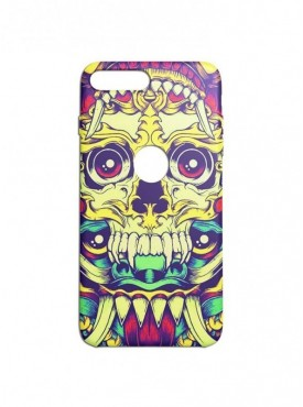 Skull Graffiti Printed Mobile Back Cover (iPhone 8 Plus Cases & Covers) For iPhone 8 Plus
