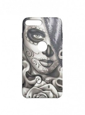 Girl Face Art Graphic Printed Mobile Back Cover (Xiaomi Mi A1 Cases & Covers) For Xiaomi Mi A1