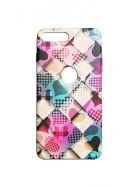 Heart Pattern Graphic Printed Mobile Back Cover (Xiaomi Mi A1 Cases & Covers) For Xiaomi Mi A1