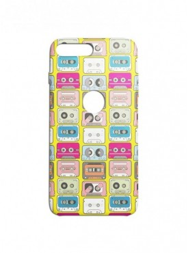 Love Casettes Pattern Graphic Printed Mobile Back Cover (Xiaomi Mi A1 Cases & Covers) For Xiaomi Mi A1
