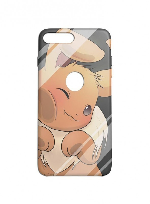 Cute Bunny Graphic Printed Mobile Back Cover (iPhone 7 Plus Cases & Covers) For iPhone 7 Plus