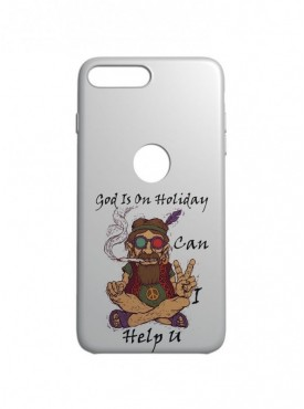 God Is On Holiday Graphic Printed Mobile Back Cover (iPhone 7 Plus Cases & Covers) For iPhone 7 Plus
