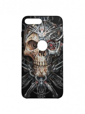 Robotic Skull Graphic Printed Mobile Back Cover (iPhone 7 Plus Cases & Covers) For iPhone 7 Plus