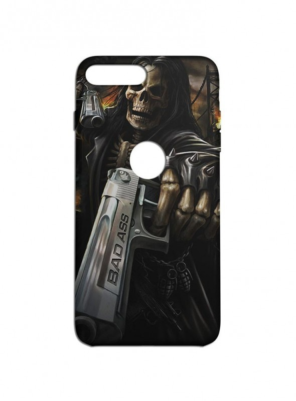 Bad Ass Graphic Printed Mobile Back Cover (iPhone 7 Plus Cases & Covers) For iPhone 7 Plus