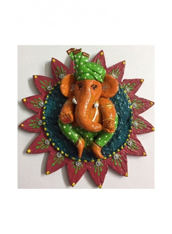 Beautifully colored Ganesh Hanging
