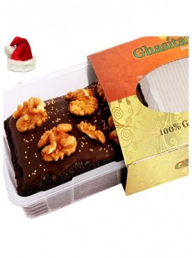 Chistmas Gifts - Chocolate Walnut Brownie