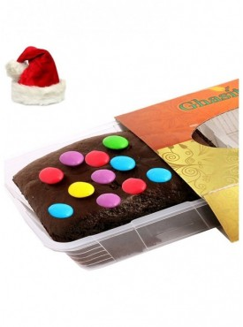 Chistmas Gifts - Gems Chocolate Brownie