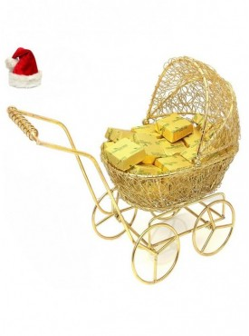 Christmas Gifts Chocolates Hampers- Golden Baby Cart Chocolates