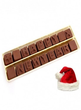 Christmas Gift Chocolates-Sugarfree Happy New Year Alphabets