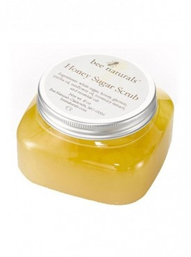 Bee Naturals Best Honey Sugar Body Scrub - All Natural Exfoliator for Body, Face and Hands - Brightens, Softens, Cleans and Smoo