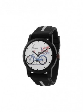 Jack klein Bicycle Edition Silicone Strap Analogue Wrist Watch