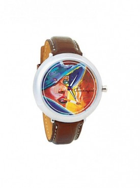 Jack klein GRP-1232 Synthetic Leather Analog Wrist Watch For Men, Women