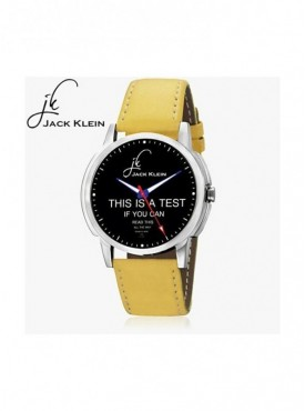 Jack klein GRP-1234 Synthetic Leather Analog Wrist Watch For Men, Women