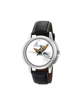 Jack klein GRP-1235 Synthetic Leather Analog Wrist Watch For Men, Women