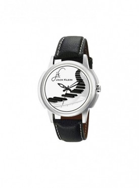 Jack klein GRP-1240 Synthetic Leather Analog Wrist Watch For Men, Women