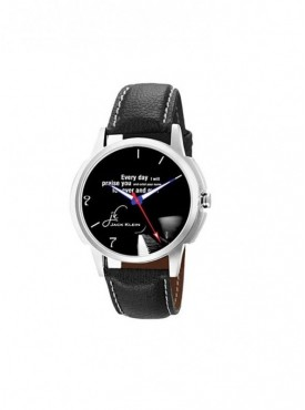 Jack klein GRP-1212 Synthetic Leather Analog Wrist Watch For Men, Women