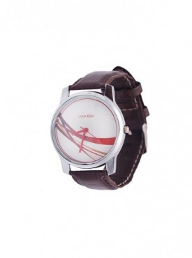 Jack Klein Synthetic Leather Multicolor Analog Round Wrist Watch