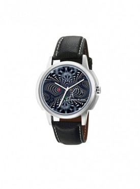 Jack klein GRP-1204 Synthetic Leather Analog Wrist Watch For Men, Women