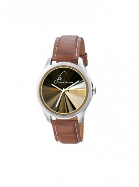 Jack klein GRP-1216 Synthetic Leather Analog Wrist Watch For Men, Women