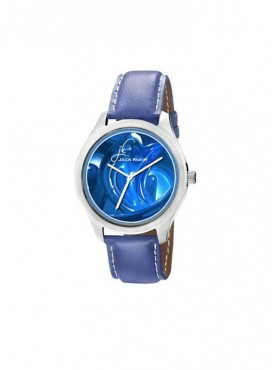 Jack klein GRP-1223 Synthetic Leather Analog Wrist Watch For Men, Women