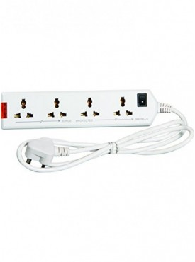 Havells 6A Four-Way Extension Board Wht