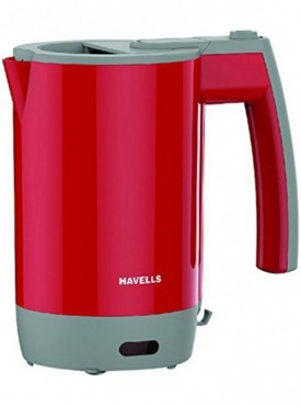 Havells Travel Lite 0.5-L Kettle (Red)
