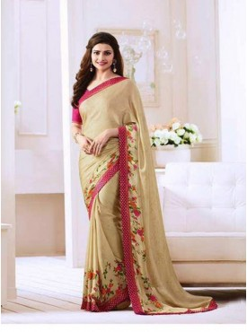Eleez Fashion Starwalk Vinay Floral Saree With Blouse