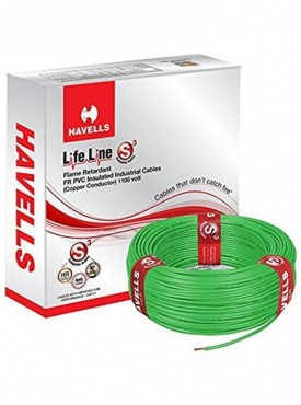 Havells Lifeline Cable 0.75 Sq Mm Green