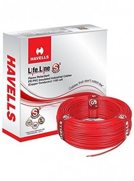 Havells Lifeline Cable 1 Sq Mm Wire Red