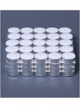 Fourwalls Unscented Tealight Candles (Set of 100, White)