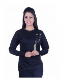 MG Wears Women Designer Print Sweat Shirt