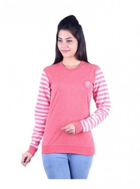 MG Wears Women Rose Pink Top