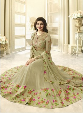 India Emporium Georgette Beige Color Suits