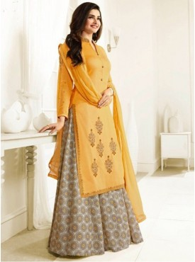 India Emporium Georgette Multi Colour Color Suits