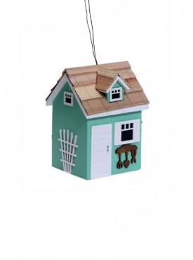 Decorative Bird House- BH1752G